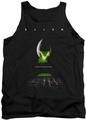 Alien  tank top Poster mens black