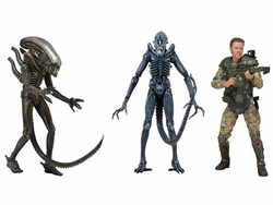 Aliens action figures Series 2 set of 3