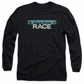 Amazing Race adult long-sleeved shirt Bar Logo black
