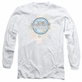 Amazing Race adult long-sleeved shirt The Race white