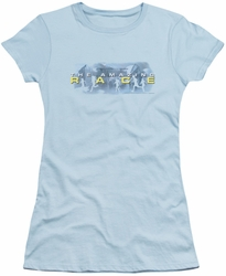 Amazing Race juniors t-shirt In The Clouds light blue