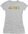Amazing Race juniors t-shirt Running Logo silver