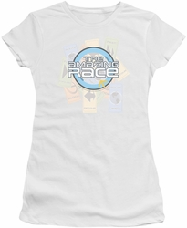 Amazing Race juniors t-shirt The Race white