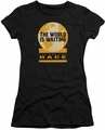 Amazing Race juniors t-shirt Waiting World black