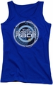 Amazing Race juniors tank top Around The Globe royal