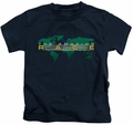Amazing Race kids t-shirt Around The World navy