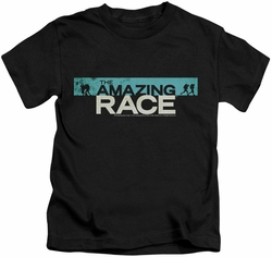 Amazing Race kids t-shirt Bar Logo black