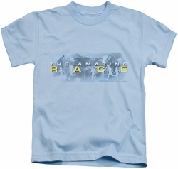 Amazing Race kids t-shirt In The Clouds light blue