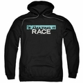 Amazing Race pull-over hoodie Bar Logo adult black
