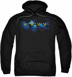 Amazing Race pull-over hoodie Faded Globe adult black