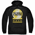 Amazing Race pull-over hoodie Waiting World adult black