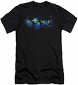 Amazing Race slim-fit t-shirt Faded Globe mens black