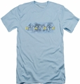 Amazing Race slim-fit t-shirt In The Clouds mens light blue
