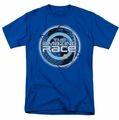 Amazing Race t-shirt Around The Globe mens royal
