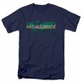 Amazing Race t-shirt Around The World mens navy