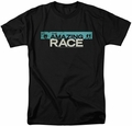 Amazing Race t-shirt Bar Logo mens black