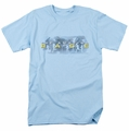 Amazing Race t-shirt In The Clouds mens light blue
