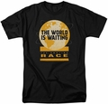 Amazing Race t-shirt Waiting World mens black