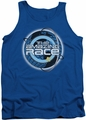 Amazing Race tank top Around The Globe mens royal
