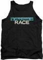 Amazing Race tank top Bar Logo mens black