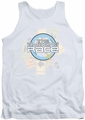 Amazing Race tank top The Race mens white