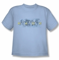Amazing Race youth teen t-shirt In The Clouds light blue