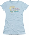 American Graffiti juniors t-shirt Mel's Drive In light blue