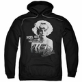 American Graffiti pull-over hoodie Peel Out adult black