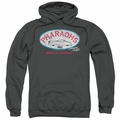 American Graffiti pull-over hoodie Pharaohs adult charcoal