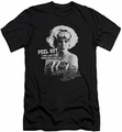 American Graffiti slim-fit t-shirt Peel Out mens black