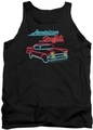 American Graffiti tank top Neon mens black