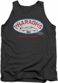 American Graffiti tank top Pharaohs mens charcoal