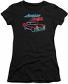 American Grafitti juniors t-shirt Neon black