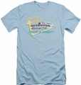 American Grafitti slim-fit t-shirt Mel'S Drive In mens light blue