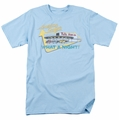 American Grafitti t-shirt Mel'S Drive In mens light blue