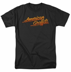 American Grafitti t-shirt Neon Logo mens black
