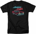 American Grafitti t-shirt Neon mens black