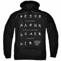 American Horror Story Roanoke pull-over hoodie Chatter Box adult Black