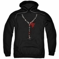 American Horror Story Roanoke pull-over hoodie Necklace adult Black