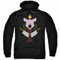 American Horror Story Roanoke pull-over hoodie Pig Cleavers adult Black