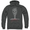 American Horror Story Roanoke pull-over hoodie Scary Tree adult Charcoal