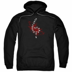 American Horror Story Roanoke pull-over hoodie Teeth adult Black