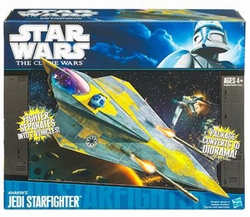 Anakin's Jedi Starfighter Star Wars vehicle