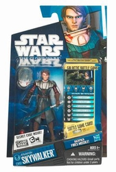 Anakin Skywalker CW07 2010 action figure Star Wars Clone Wars