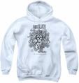 Andy Black youth teen hoodie Truumpets Sound white