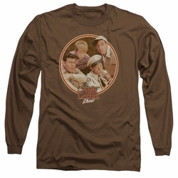 Andy Griffith adult long-sleeved shirt Boys Club coffee