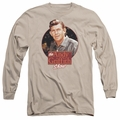 Andy Griffith adult long-sleeved shirt Circle Of Trust sand