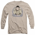 Andy Griffith adult long-sleeved shirt Thanks For The Memories sand
