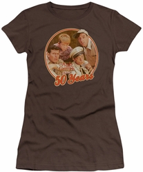 Andy Griffith juniors t-shirt 50 Years coffee