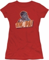 Andy Griffith juniors t-shirt Aw Pa red